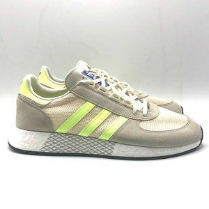 Adidas Men Running Shoes Ivory Low Top Training 12